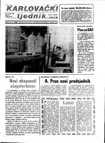 Karlovački tjednik: 1983 • 14