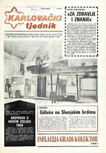 Karlovački tjednik: 1989 • 38