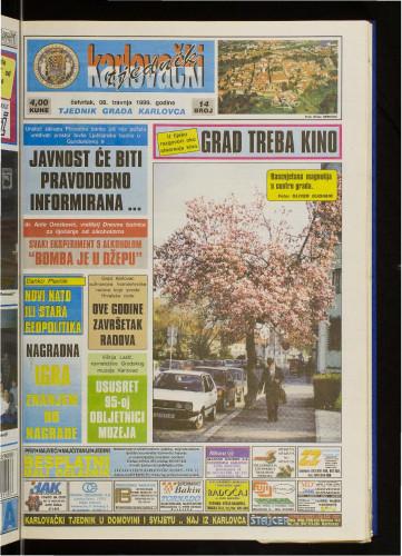 Karlovački tjednik: 1999 • 14