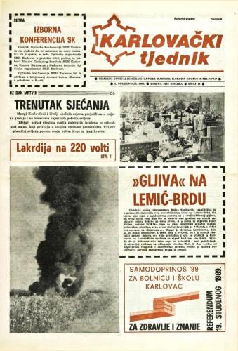 Karlovački tjednik: 1989 • 44