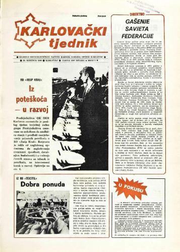 Karlovački tjednik: 1989 • 3