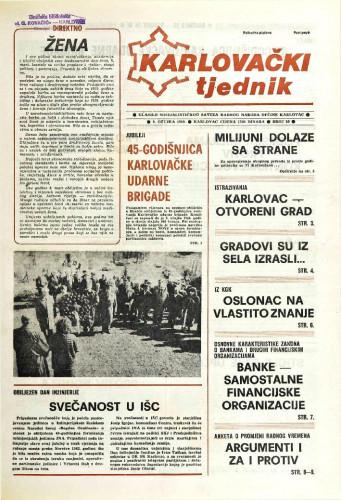 Karlovački tjednik: 1989 • 10