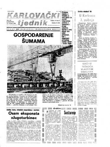 Karlovački tjednik: 1984 • 14