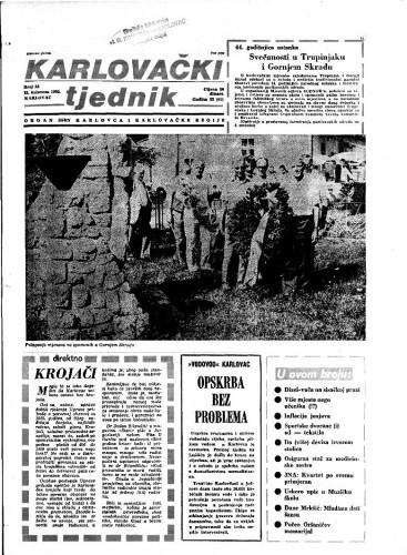 Karlovački tjednik: 1985 • 32