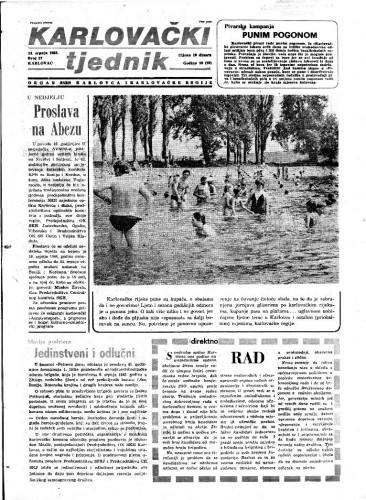 Karlovački tjednik: 1983 • 27
