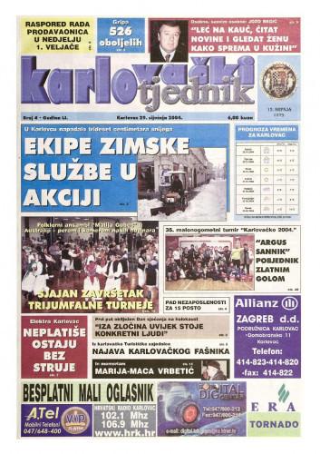 Karlovački tjednik: 2004 • 4