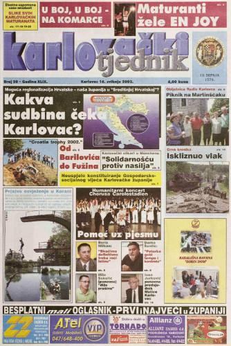 Karlovački tjednik: 2002 • 20
