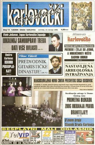 Karlovački tjednik: 2000 • 14