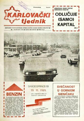 Karlovački tjednik: 1989 • 45