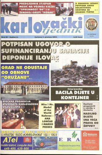 Karlovački tjednik: 2004 • 48