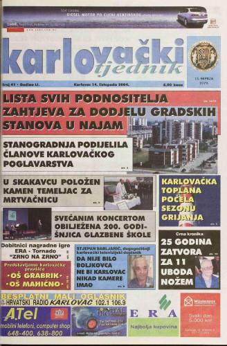Karlovački tjednik: 2004 • 41