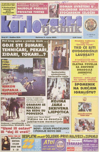 Karlovački tjednik: 2002 • 27