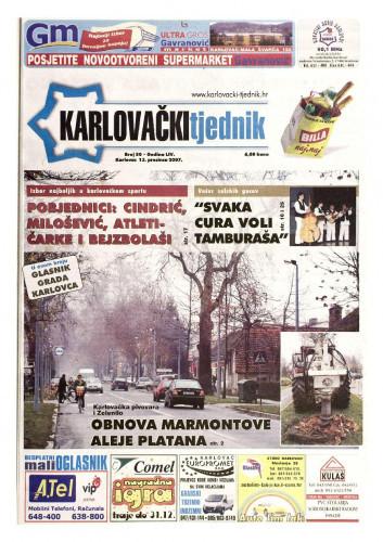 Karlovački tjednik: 2007 • 50