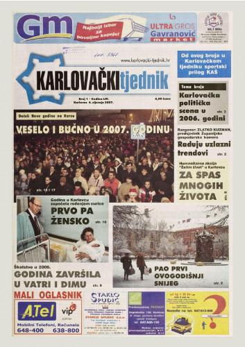 Karlovački tjednik: 2007 • 1