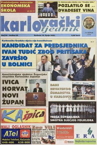 Karlovački tjednik: 2005 • 24