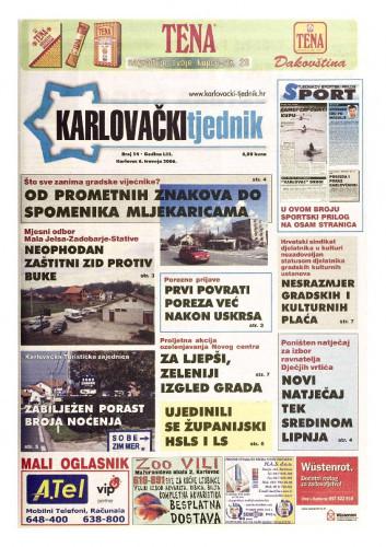 Karlovački tjednik: 2006 • 14