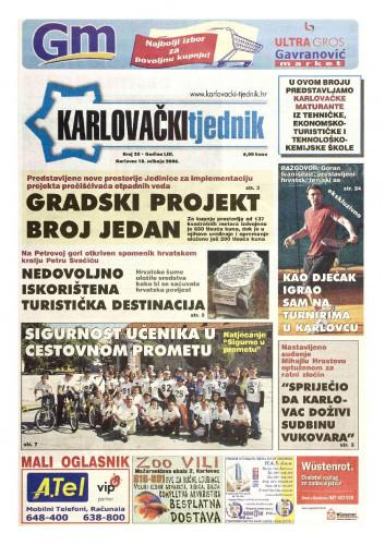Karlovački tjednik: 2006 • 20