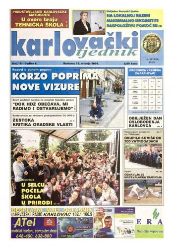 Karlovački tjednik: 2004 • 19