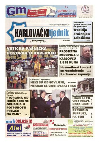 Karlovački tjednik: 2007 • 8