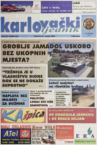 Karlovački tjednik: 2005 • 29