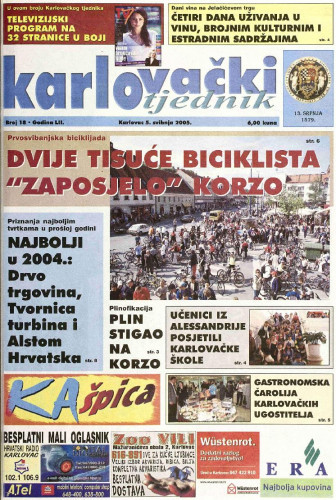Karlovački tjednik: 2005 • 18