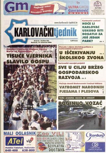Karlovački tjednik: 2006 • 33