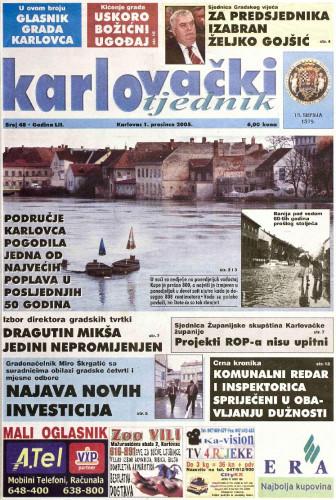 Karlovački tjednik: 2005 • 48