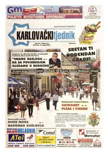 Karlovački tjednik: 2007 • 28