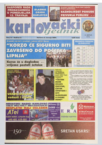Karlovački tjednik: 2004 • 14