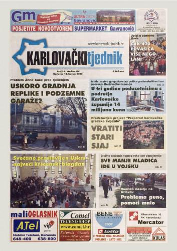 Karlovački tjednik: 2007 • 15