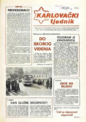 Karlovački tjednik: 1989 • 19