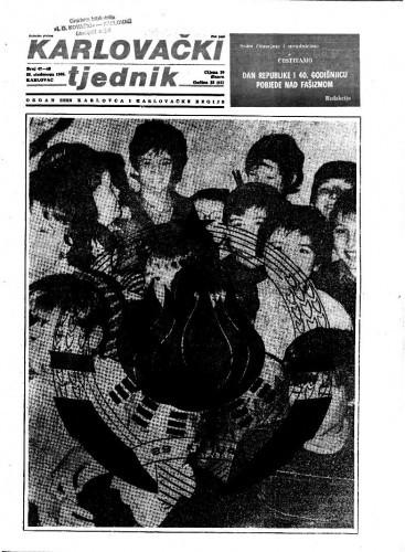 Karlovački tjednik: 1985 • 47/48
