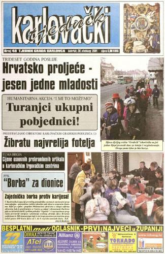 Karlovački tjednik: 2001 • 48