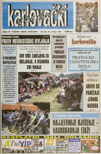 Karlovački tjednik: 2000 • 17