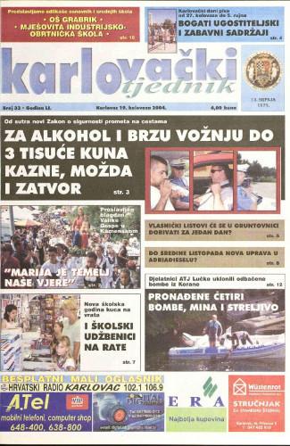 Karlovački tjednik: 2004 • 33