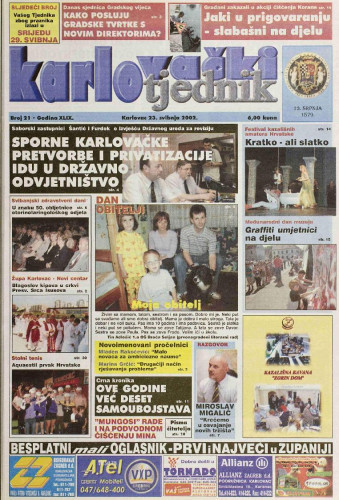 Karlovački tjednik: 2002 • 21