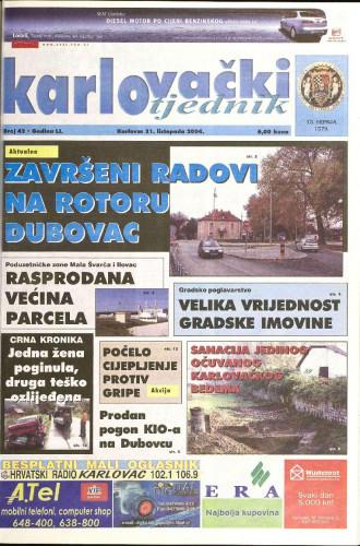Karlovački tjednik: 2004 • 42