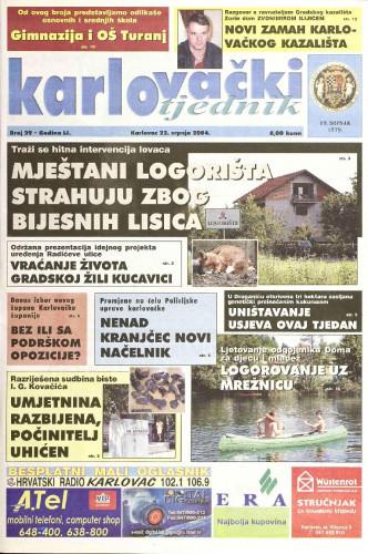 Karlovački tjednik: 2004 • 29