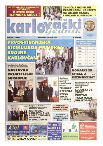 Karlovački tjednik: 2004 • 18