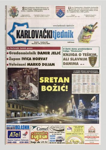 Karlovački tjednik: 2007 • 51