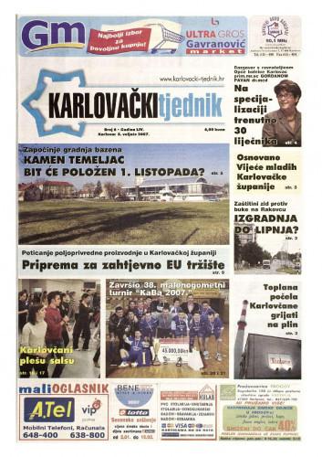 Karlovački tjednik: 2007 • 6