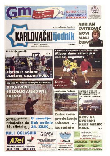 Karlovački tjednik: 2007 • 2