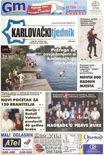 Karlovački tjednik: 2006 • 29