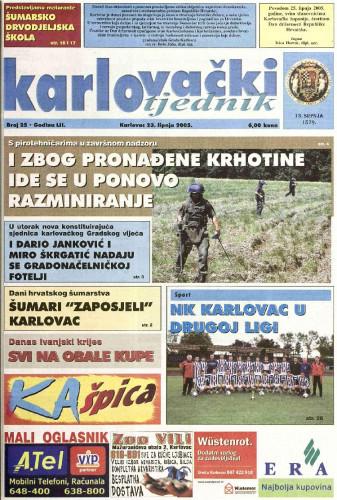Karlovački tjednik: 2005 • 25