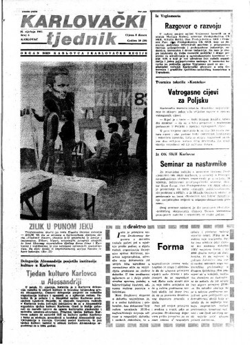 Karlovački tjednik: 1983 • 3