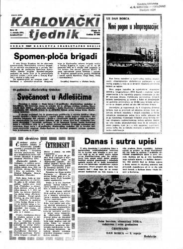 Karlovački tjednik: 1984 • 26