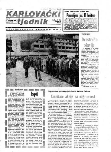 Karlovački tjednik: 1984 • 33