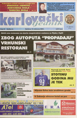 Karlovački tjednik: 2004 • 32