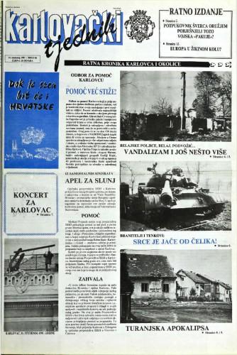 Karlovački tjednik: 1991 • 46