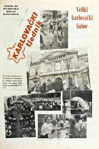 Karlovački tjednik: 1990 • 30